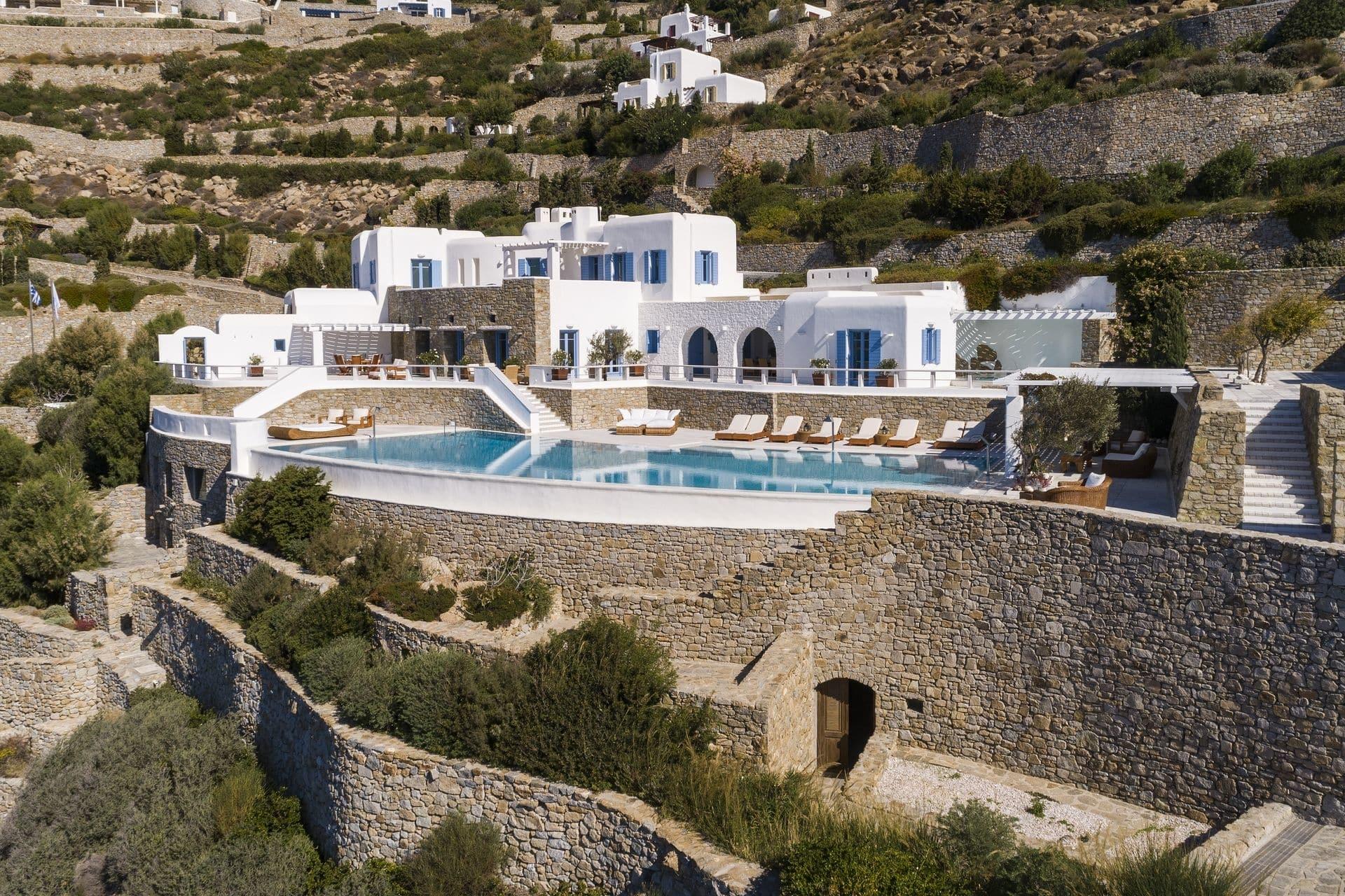 private villas in mykonos