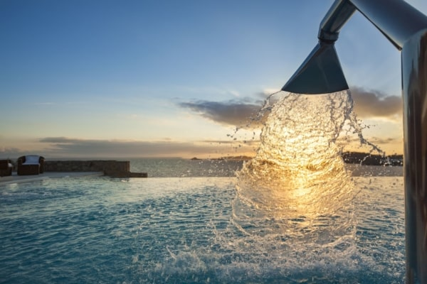 luxury villa experiences in Mykonos