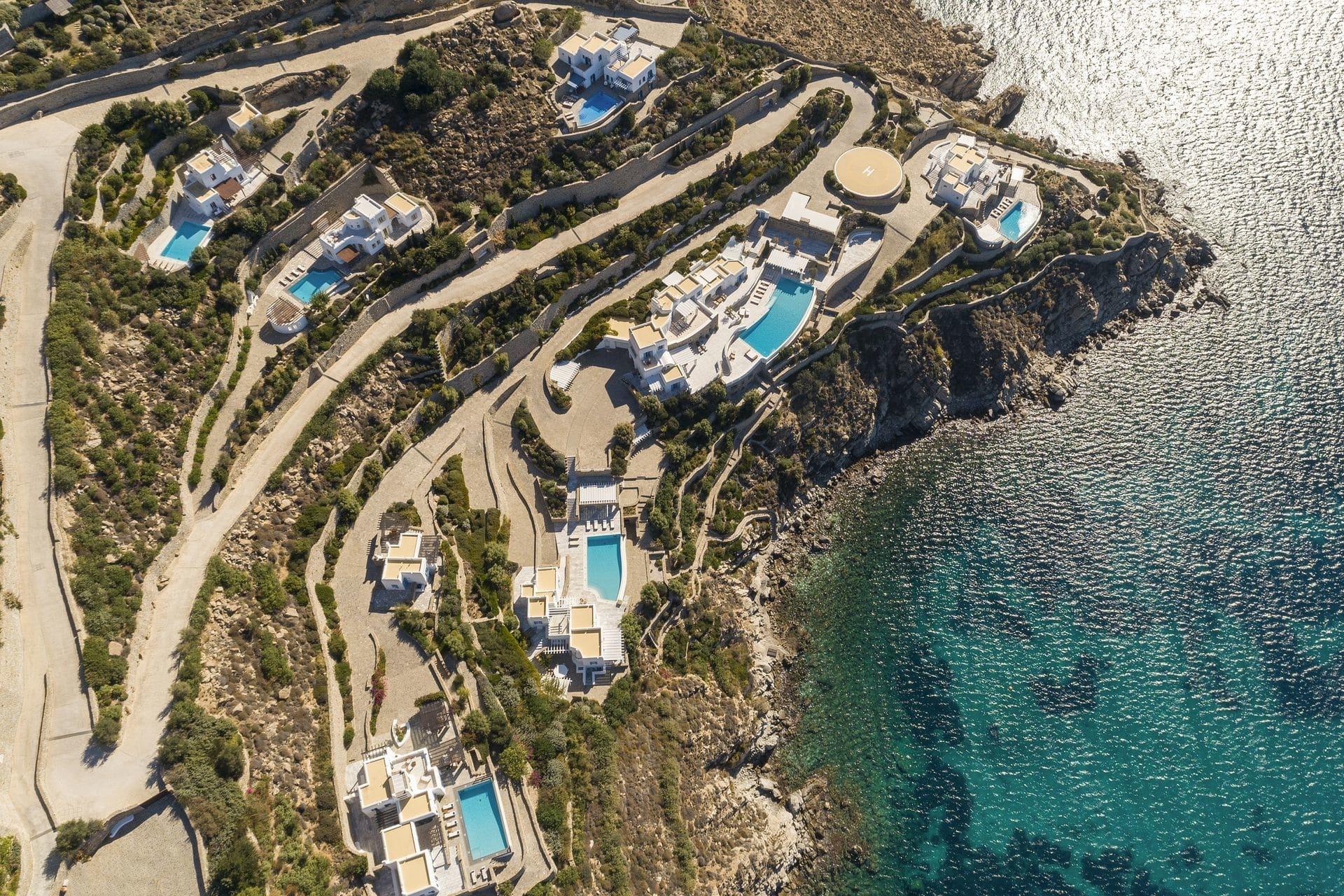luxury villa holidays mykonos