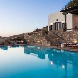 luxury private villas mykonos