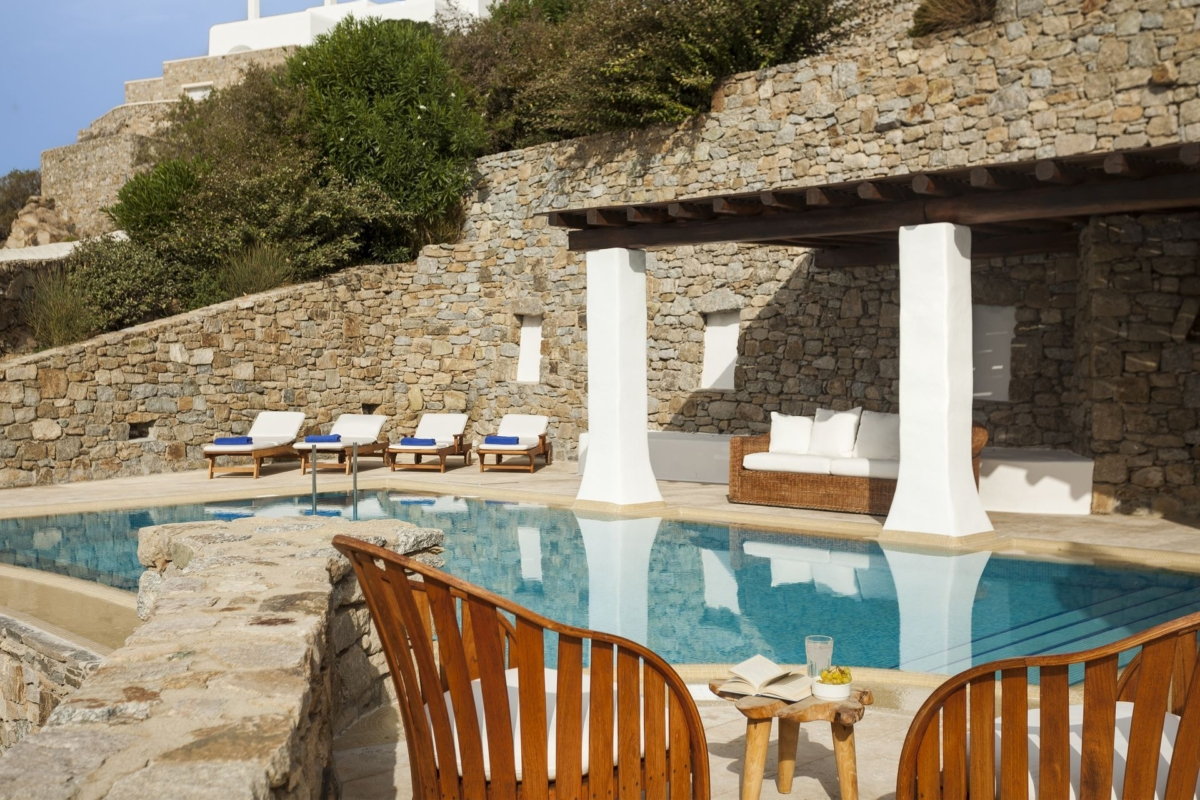 mykonos pool villas