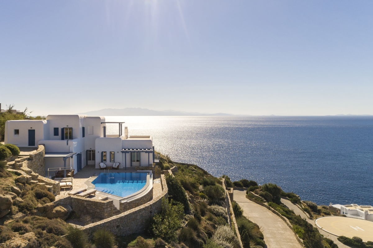 mykonos private pool villas
