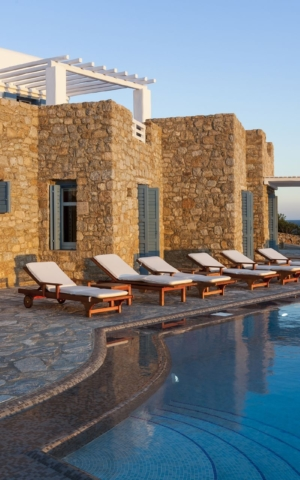 mykonos luxury villas with seaview