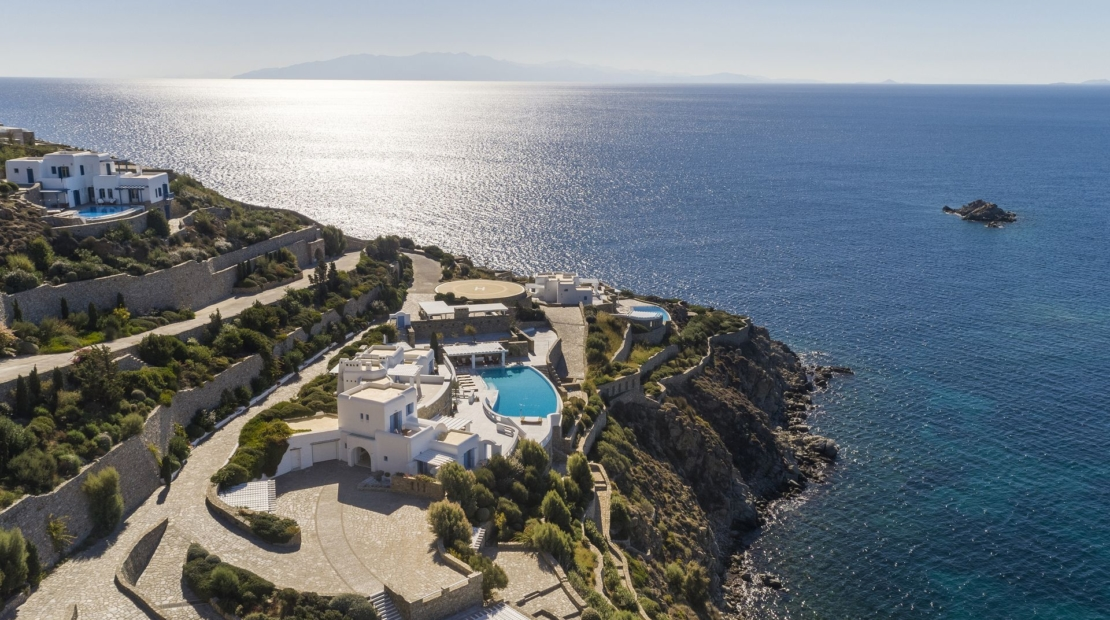 luxury villas in mykonos