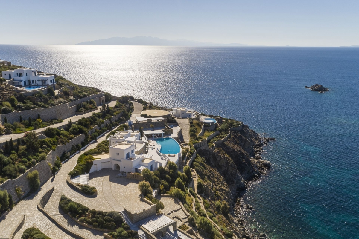 luxury villas in mykonos